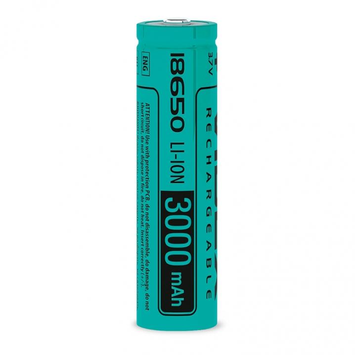 Акумулятор Videx літій-іонний 18650(без захисту) 3000mAh bulk10/1шт